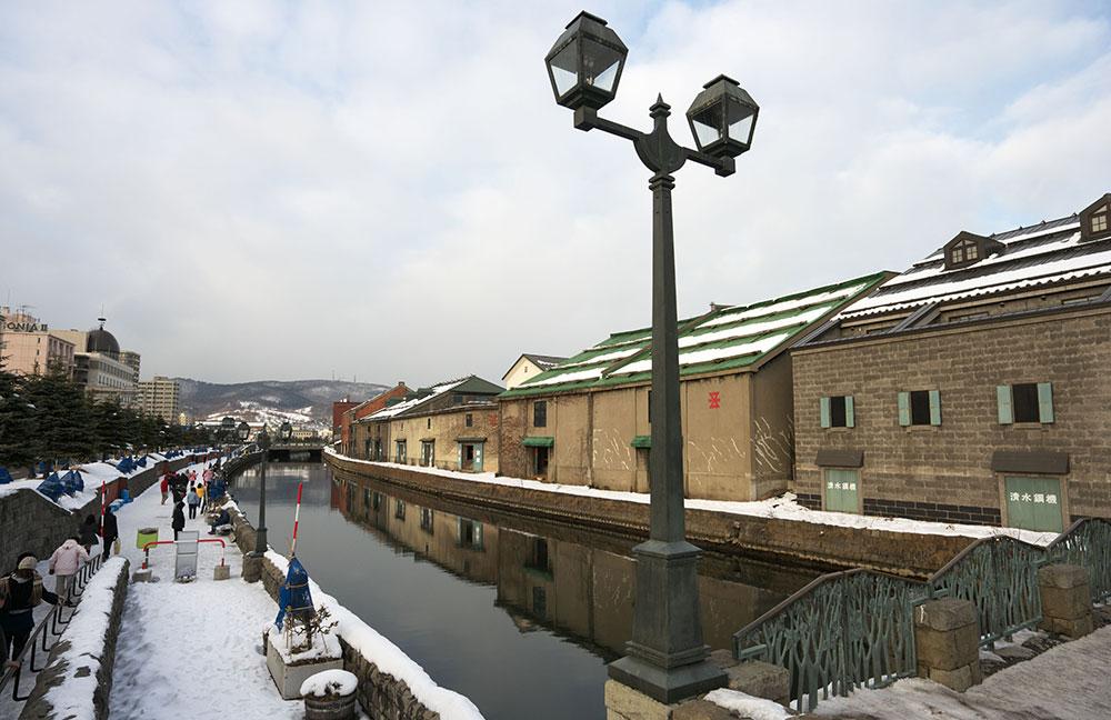 小樽 小樽運河